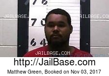Matthew Green mugshot picture