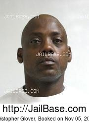 Christopher Glover mugshot picture