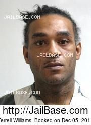 Terrell Williams mugshot picture