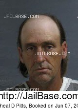 MICHEAL D PITTS mugshot picture