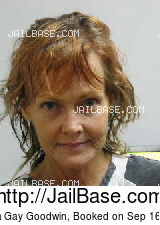 ANGELA GAY GOODWIN mugshot picture