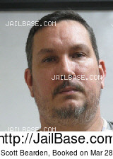 JASON SCOTT BEARDEN mugshot picture