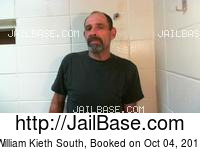 WILLIAM KIETH SOUTH mugshot picture