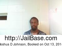 JOSHUA D JOHNSON mugshot picture