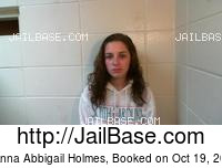 JEANNA ABBIGAIL HOLMES mugshot picture