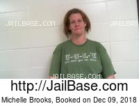 MICHELLE BROOKS mugshot picture