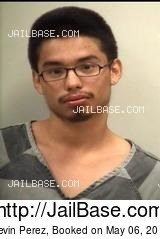 KEVIN PEREZ mugshot picture