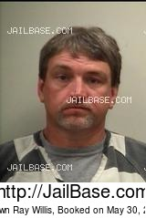 SHAWN RAY WILLIS mugshot picture