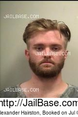 CHASE ALEXANDER HAIRSTON mugshot picture