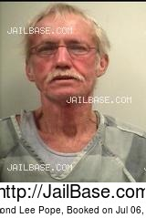 RAYMOND LEE POPE mugshot picture
