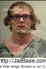 JOSEPH KEITH HODGE mugshot picture