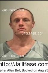 CHRISTOPHER ALLEN BELL mugshot picture