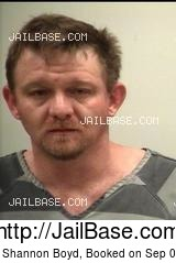 MICHAEL SHANNON BOYD mugshot picture
