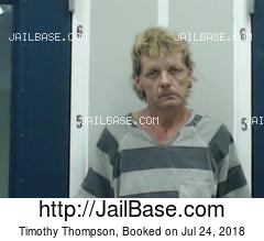 TIMOTHY THOMPSON mugshot picture