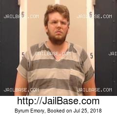 BYRUM EMORY mugshot picture