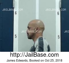 JAMES EDWARDS mugshot picture