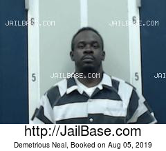 DEMETRIOUS NEAL mugshot picture