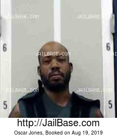 OSCAR JONES mugshot picture