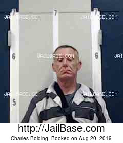 CHARLES BOLDING mugshot picture