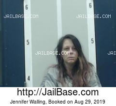 JENNIFER WALLING mugshot picture