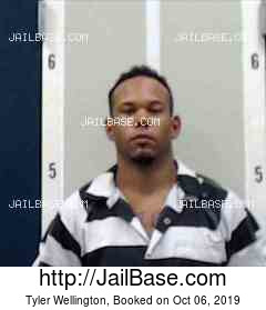 TYLER WELLINGTON mugshot picture