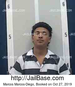 MARCOS MARCOS-DIEGO mugshot picture