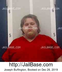 JOSEPH BUFFINGTON mugshot picture
