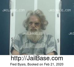 FRED BYARS mugshot picture