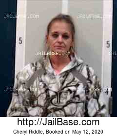 CHERYL RIDDLE mugshot picture