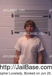 Christopher Lovelady mugshot picture