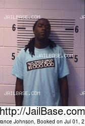 Terrance Johnson mugshot picture