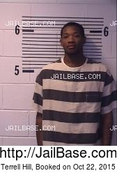 Terrell Hill mugshot picture