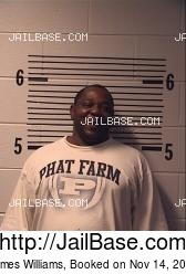 James Williams mugshot picture