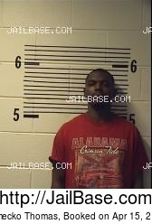 Jamecko Thomas mugshot picture
