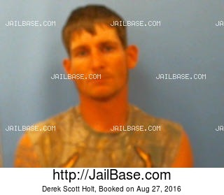 DEREK SCOTT HOLT mugshot picture