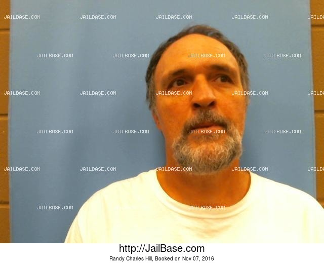 RANDY CHARLES HILL mugshot picture