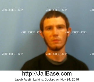 JACOB AUSTIN LARKINS mugshot picture
