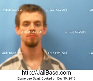 BLAINE LEE SAINT mugshot picture
