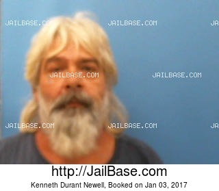 KENNETH DURANT NEWELL mugshot picture