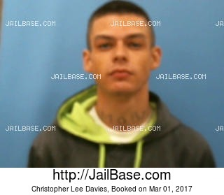CHRISTOPHER LEE DAVIES mugshot picture