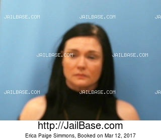 ERICA PAIGE SIMMONS mugshot picture