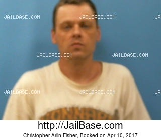 CHRISTOPHER ARLIN FISHER mugshot picture