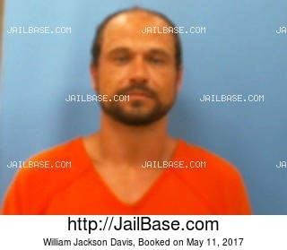 WILLIAM JACKSON DAVIS mugshot picture