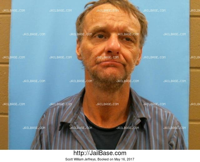 SCOTT WILLIAM JEFFREYS mugshot picture