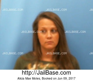 ALICIA MAE MOTES mugshot picture