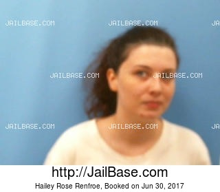 HAILEY ROSE RENFROE mugshot picture