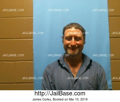 JAMES CORLEY mugshot picture