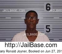 BARRY RONALD JOYNER mugshot picture