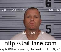 JOSEPH WILLIAM OWENS mugshot picture