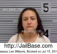JESSICA LEE WILLIAMS mugshot picture
